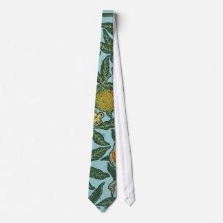 William Morris Floral Artwork Vintage Wallpaper Tie