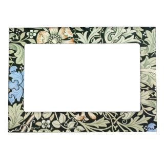 William Morris floral design Magnetic Frame