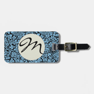 William Morris Floral Pattern Bird Flowers Tags For Luggage