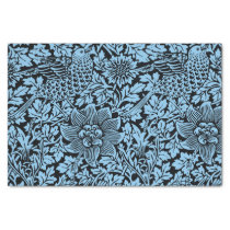 William Morris Floral Pattern Bird Flowers Tissue Paper