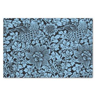 William Morris Floral Pattern Bird Flowers Tissue Paper