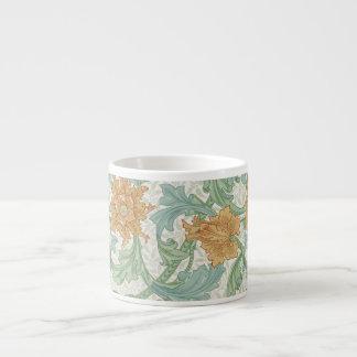 William Morris Floral Pattern Single Stem Espresso Cup