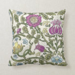 William Morris Floral Throw Pillows