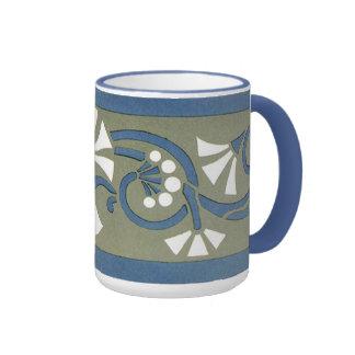 William Morris Flower Bar - Mug