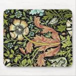 William Morris Flower Design Mousepad