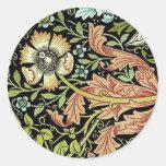 William Morris Flower design Sticker