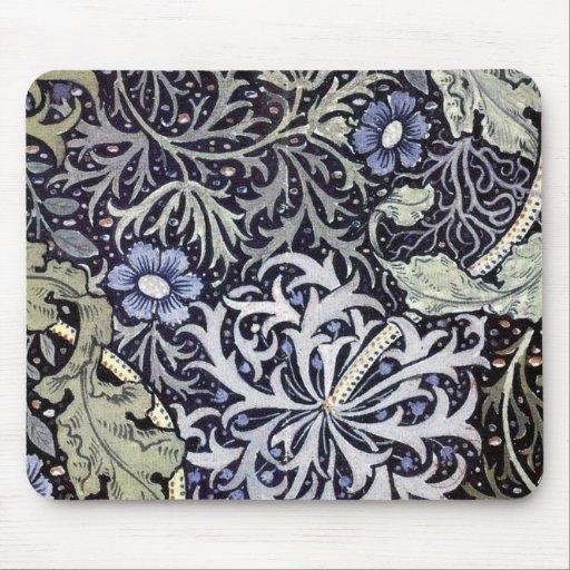 William Morris Flowers Mousepads