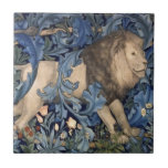 "William Morris Forest Animals Lion Vintage Floral Ceramic Tile<br><div class=""desc"">William Morris Forest Animals Lion Vintage Floral</div>"
