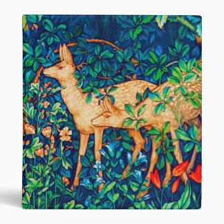 William Morris Forest Deer Tapestry Print Binder