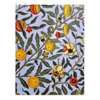 William Morris - fruta Tarjetas Postales