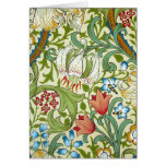 William Morris Garden Lily Wallpaper Stationery Note Card