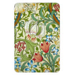 William Morris Garden Lily Wallpaper Flexible Magnet