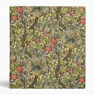 William Morris Golden Lily Binder