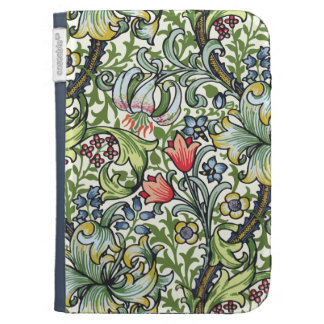 William Morris Golden Lily Floral Chintz Pattern Kindle Cases