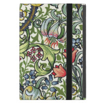 William Morris Golden Lily Floral Chintz Pattern Cover For iPad Mini