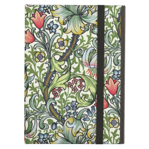 William Morris Golden Lily Floral Chintz Pattern iPad Covers