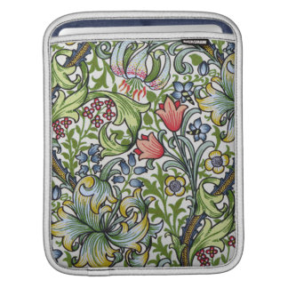 William Morris Golden Lily Floral Chintz Pattern iPad Sleeves