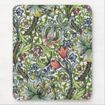 William Morris Golden Lily Floral Chintz Pattern Mouse Pad