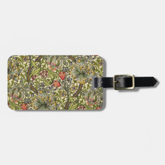 William Morris Golden Lily Luggage Tag