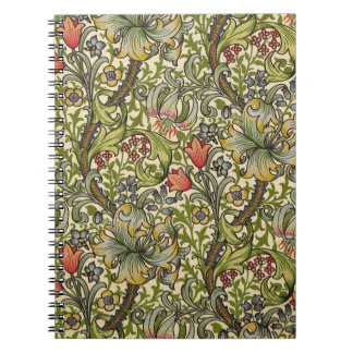 William Morris Golden Lily Notebook