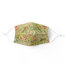 William Morris Golden Lily Vintage Pre-Raphaelite Adult Cloth Face Mask