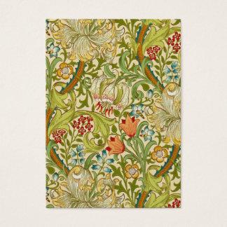 William Morris Golden Lily Vintage Pre-Raphaelite Business Card
