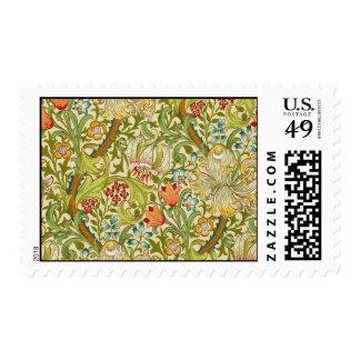William Morris Golden Lily Vintage Pre-Raphaelite Postage