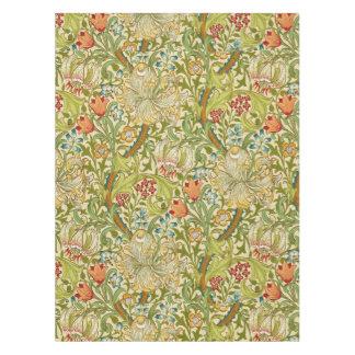 William Morris Golden Lily Vintage Pre-Raphaelite Tablecloth