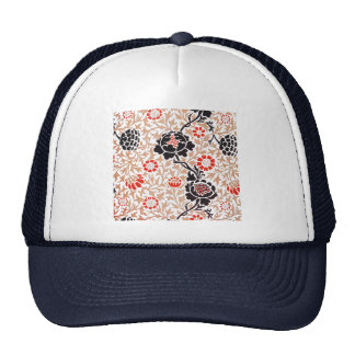 William Morris Grafton Wallpaper Trucker Hat