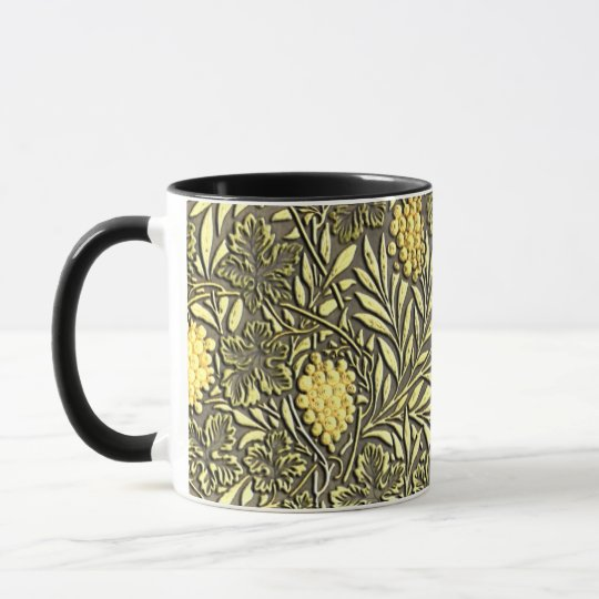 William Morris grapes pattern Mug