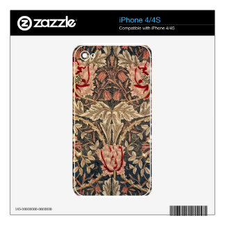 William Morris Honeysuckle iPhone 4S Skins