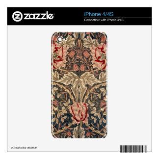 William Morris Honeysuckle iPhone 4S Skins