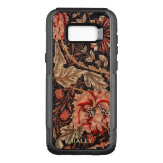 William Morris Honeysuckle Vintage Floral Damask OtterBox Commuter Samsung Galaxy S8+ Case