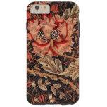 William Morris Honeysuckle Vintage Pattern Tough iPhone 6 Plus Case