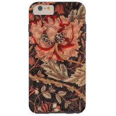 William Morris Honeysuckle Vintage Pattern Tough Iphone 6 Plus Case at Zazzle