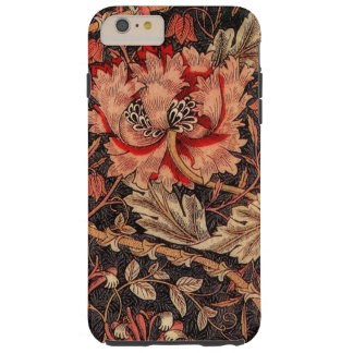William Morris Honeysuckle Vintage Pattern Tough iPhone 6 Plus Case