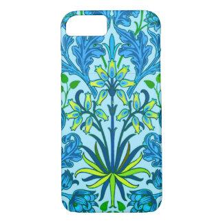 William Morris Hyacinth Print, Cerulean Blue iPhone 7 Case