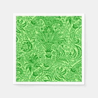 William Morris Indian, Lime and Kiwi Green Napkin
