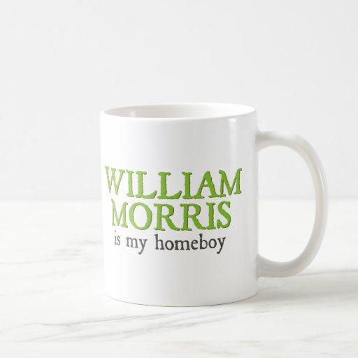 William Morris is my Homeboy Classic White Coffee Mug