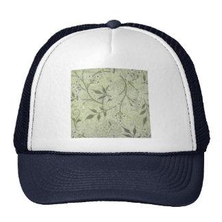 William Morris Jasmine Wallpaper Mesh Hat
