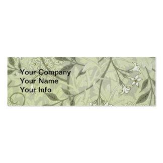William Morris Jasmine Wallpaper Mini Business Card