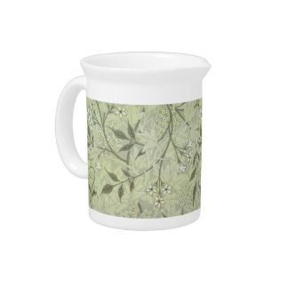 William Morris Jasmine Wallpaper Pitcher