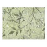 William Morris Jasmine Wallpaper Post Cards