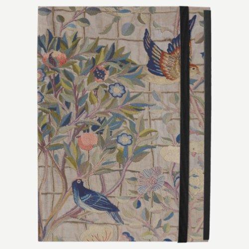 "William Morris Kelmscott Trellis Embroidery iPad Pro 12.9"" Case"