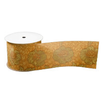 William Morris Kennet Pattern Satin Ribbon