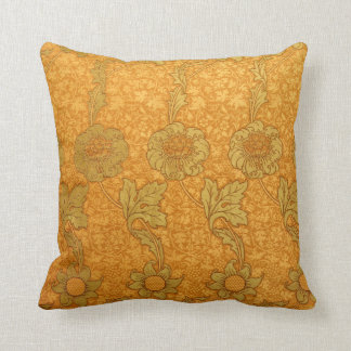William Morris Kennet Pattern Throw Pillow