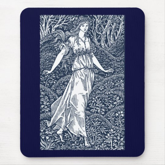William Morris Lady Mouse Pad