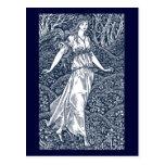 William Morris Lady Postcard