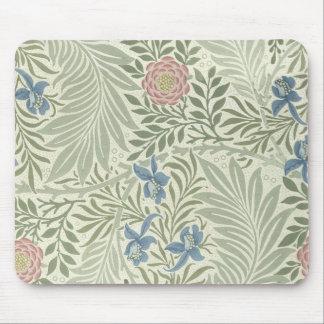 William Morris Larkspur Floral Pattern Mouse Pad
