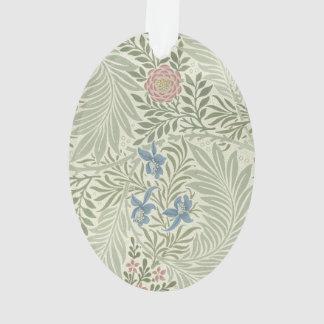 William Morris Larkspur Floral Pattern Ornament
